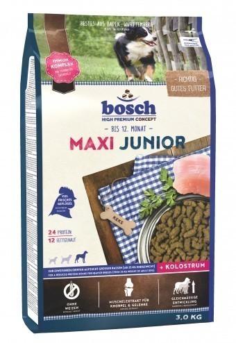Сухой корм для собак Bosch Maxi Junior, 3 кг
