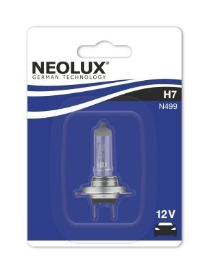 Лампа Neolux H7 Standart (12 В, 55 Вт, блистер)