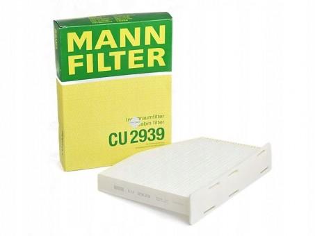 Фильтр салонный MANN-FILTER CU 2939