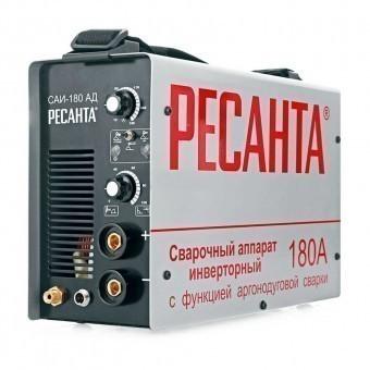 Сварочный аппарат инверторный Ресанта САИ-180АД (аргонодуговой)
