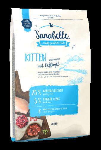 Сухой корм для для котят Sanabelle Kitten NEW, 10 кг