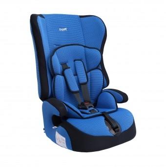 Автокресло детское  9-36 кг Siger Прайм (8 мес-12 лет) внутренние ремни синее KRES0005
