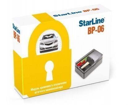 Обход иммобилайзера Starline BP-06