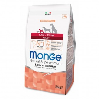 Сухой корм для собак Monge Specialty Line - Mini Adult Salmone (2,5 кг)
