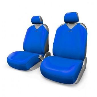 Чехлы-майки Автопрофи R-1 Sport Plus (2 шт, перед) - синие