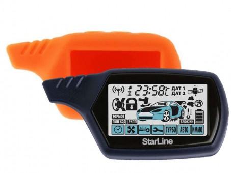 Чехол силиконовый Старлайн A91/B9 (оранжевый)