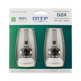 Ксеноновые лампы MTF Night Assistant D2R 4800K (+100%, 2 шт)