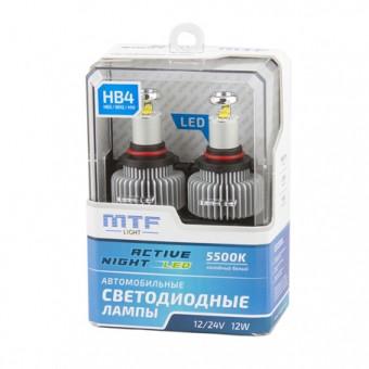 Светодиодные лампы MTF Active Night HB4 (5500K)