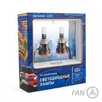 Светодиодные лампы MTF Night Assistant Fan HB4/HIR2 (4500K)