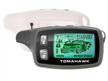 Чехол силиконовый Tomahawk TW-9010/9020/9030 (белый)