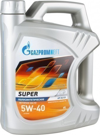 Масло моторное Gazpromneft Super 5W40 (4 л)