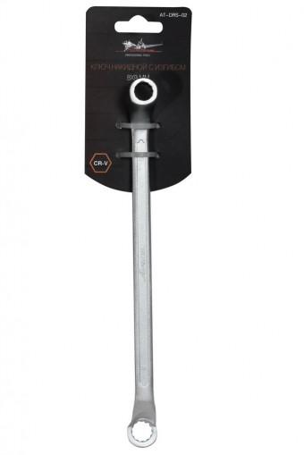 Ключ накидной AirLine с изгибом, 8-9 мм