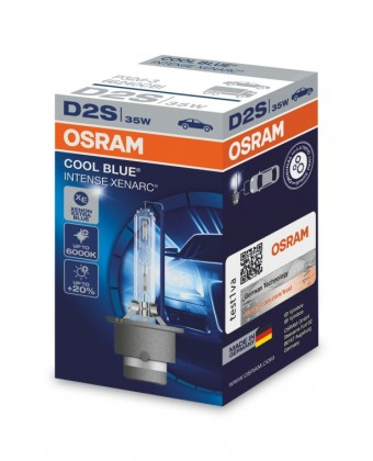 Ксеноновая лампа Osram D2S Xenarc Cool Blue Intense 6000K