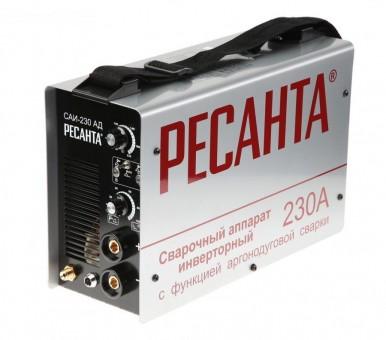 Сварочный аппарат инверторный Ресанта САИ-230АД (аргонодуговой)