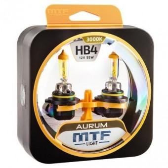 Лампы MTF Aurum HB4 9006 (12 V, 55 W, 2 шт)