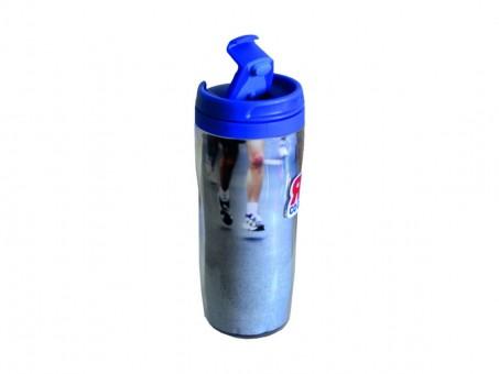 Термостакан «Я со Спортом» Т-35-01, синий, 350 мл