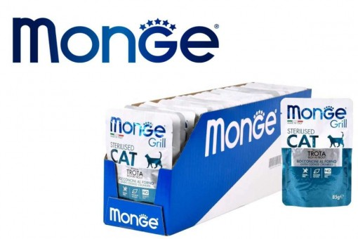 Паучи для кошек Monge