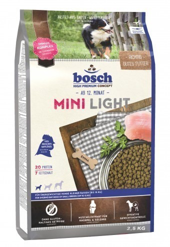 Сухой корм для собак Bosch Mini Light,  2,5 кг