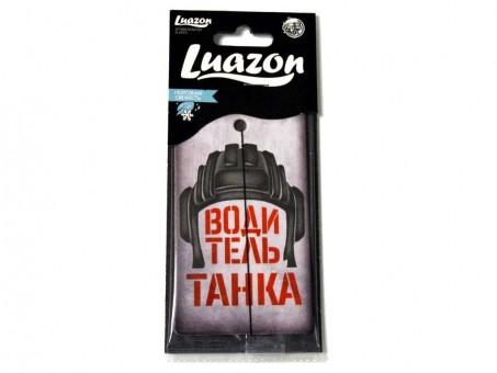 Ароматизатор-пластинка Luazon - Водитель танка (морозная свежесть)
