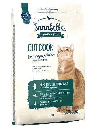 Сухой корм для кошек Sanabelle Outdoor (10 кг)