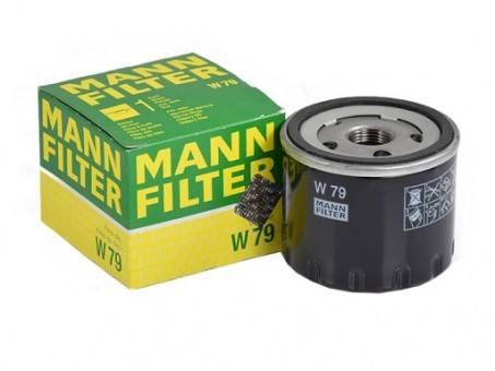 Фильтр масляный MANN-FILTER W 79