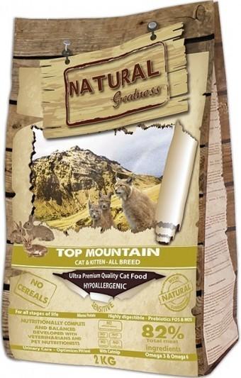 Сухой корм для кошек Natural Greatness Top Mountain, 2 кг