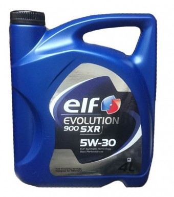 Масло моторное Elf Evolution 900 SXR 5W30 (4 л)