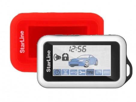Чехол силиконовый Старлайн E60/E90 (красный)