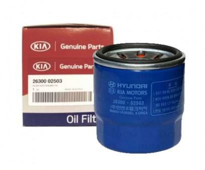 Фильтр масляный оригинальный Hyundai/Kia 26300 02503 (W 7023)