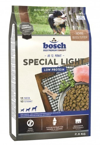 Сухой корм для собак Bosch Special Light, 2,5 кг