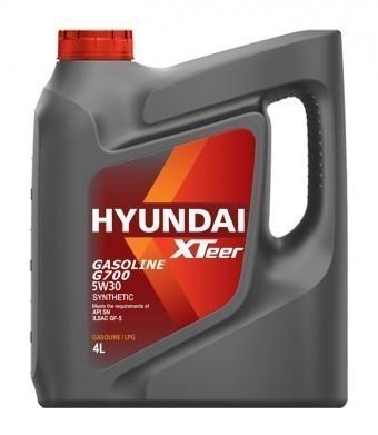 Масло моторное Hyundai Xteer Gasoline G700 5W30 (4 л)